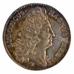 Louis XIV Anjou AR jeton for Angers