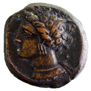 Zeugitanie sicilo-punique bronze