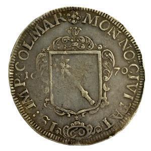 Alsace Colmar Gulden 1670