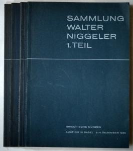 Collection Walter Niggeler 4 volumes brochés
