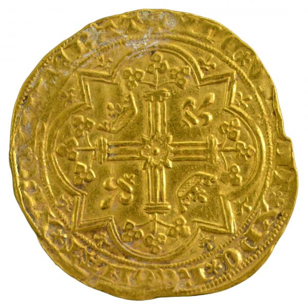 Charles V franc à pied