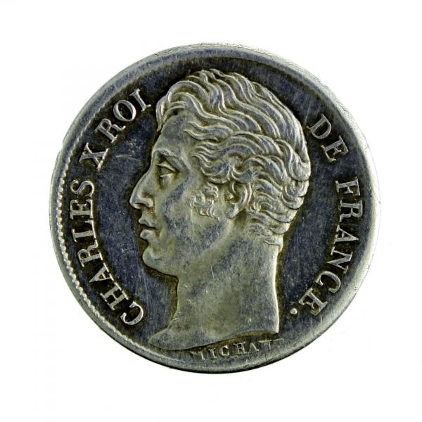 Charles X Demi Franc 1829 Paris