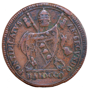 Vatican Pie VII Baiocchi 1802
