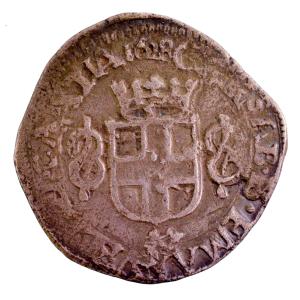 Savoie Charles Emmanuel I 6 soldi 1628 Chambery