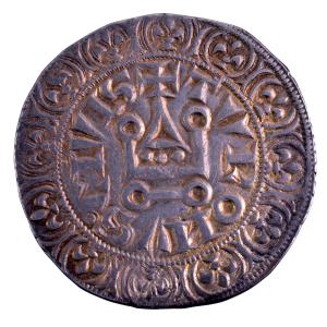 Philippe IV gros tournois à l'O rond