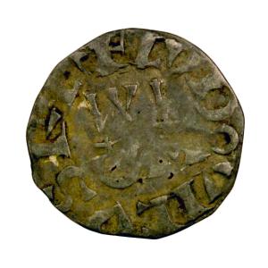 Louis VII Denier 2e type Pointoise