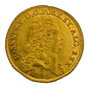 Portugal 6400 reis 1745 Bahia