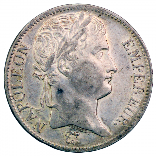 Napoleon I 5 francs 1808 Paris