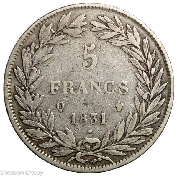 LP-5francs1831Q
