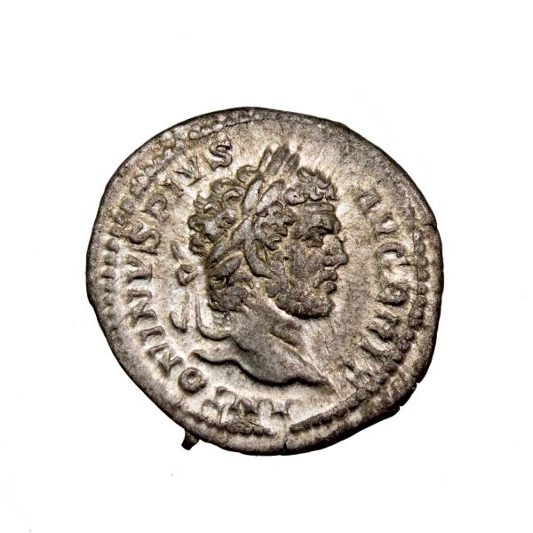 Caracalla denier frappé en 212