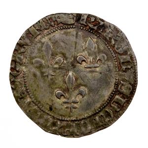 Charles VII double gros frappé à Tournai