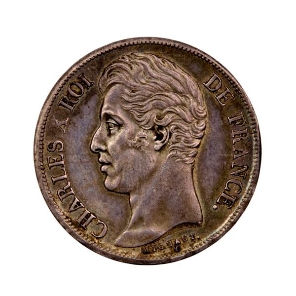 Charles X 2 francs 1829 Nantes