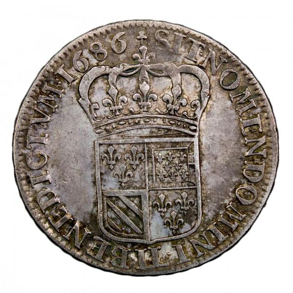 Louis XIV demi écu de Flandre 1786 Lille