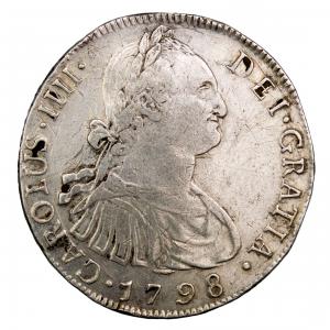 Guatemala 8 reales 1798 NG M