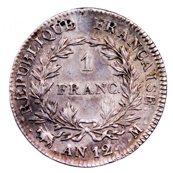Consulat 1 francs An 12 Toulouse