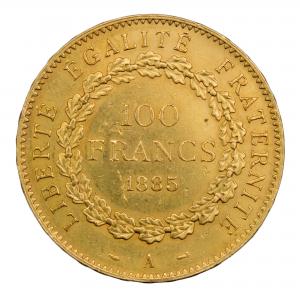 III République 100 francs 1885 A