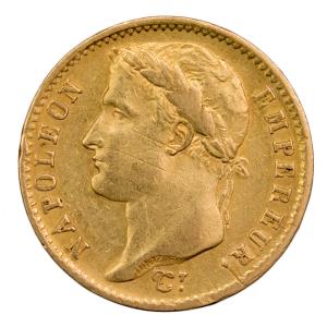 Napoleon I 20 francs laurée 1807 Paris