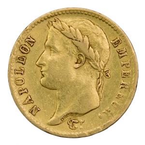 Napoleon I 20 francs 1810 Lille