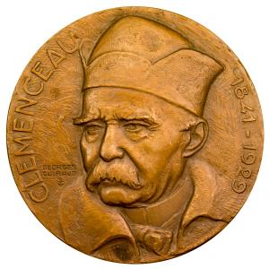 Médaille porte avion Clemenceau