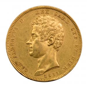 Italy 100 lire 1835 Torino