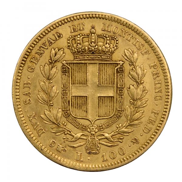 Italie 100 lire 1835 Turin