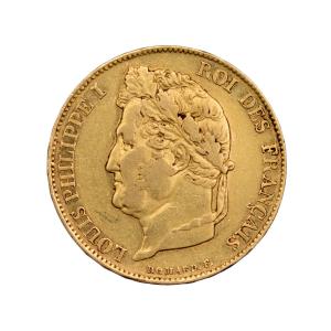 Louis Philippe 20 francs 1834 Bayonne