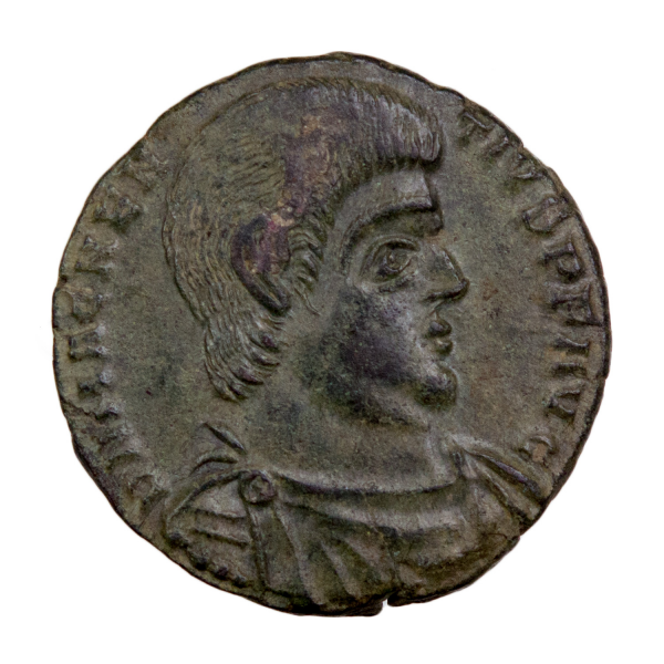 Magnentius double maiorina Trier 353