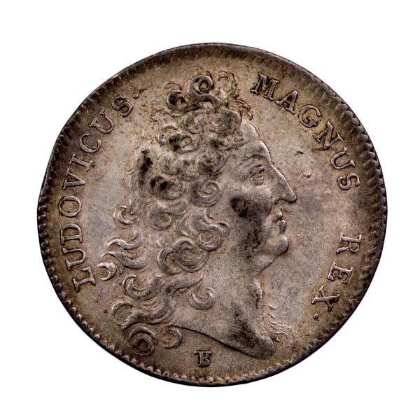Louis XIV AR Jeton 1708 chambre et procureur des comptes