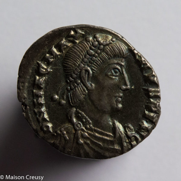 Magnus Maximus AR Siliqua Trier