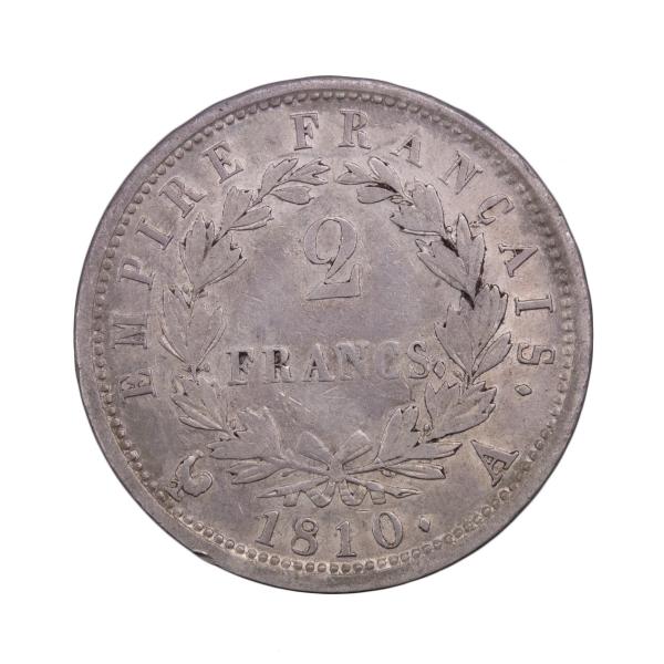 Napoleon I 2 francs 1810 Paris
