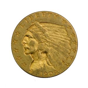 Usa 2,5 dollars 1909