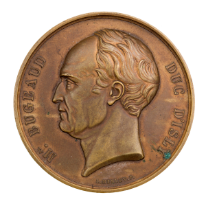 Médaille Mr Bugeaud duc d'Isly
