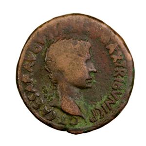 Auguste As frappé à Rome en -15