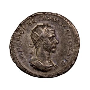 Macrinus AR Antoninianus.