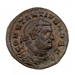Constance Chlore Follis frappé à Londres en 303