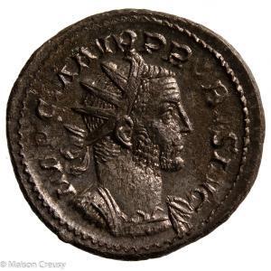 Probus Silvered AE Antoninianus Lyons 277