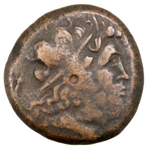 Egypte Ptolémée II bronze frappé à Tyre
