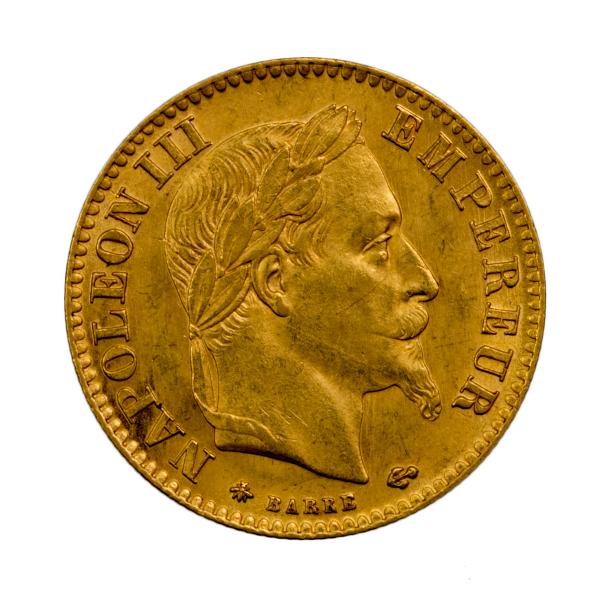 Napoleon III 10 francs 1868 A