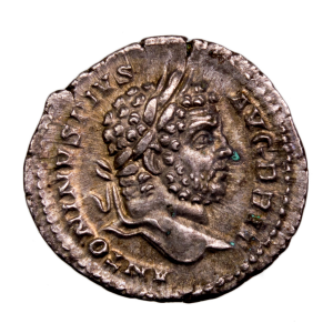 Caracalla denier revers MARTI PACATORI