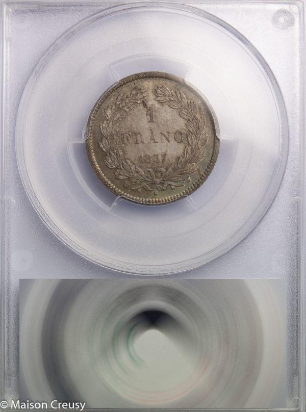 LP-franc1837W-MS65