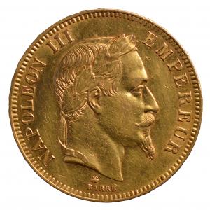 Napoléon III 100 Francs 1868 Paris
