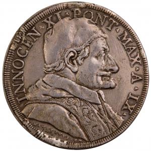 Etats Pontificaux Innocent XI Piastre 1684 IX