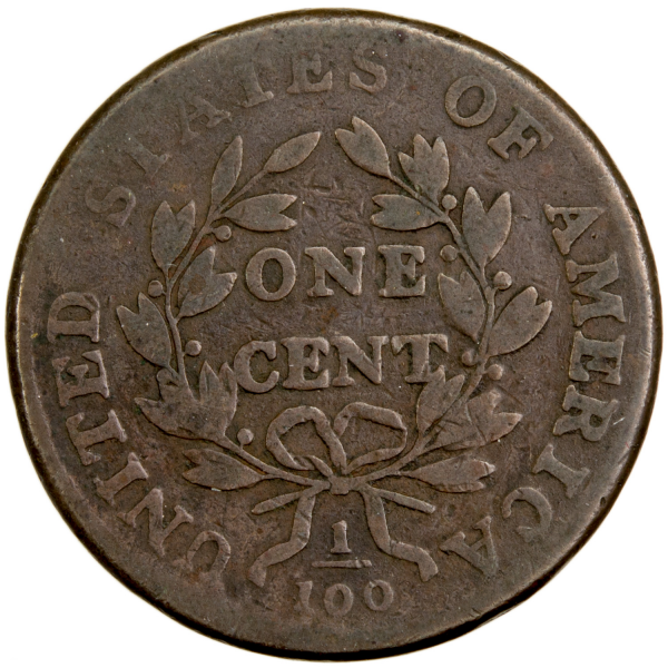 USA large cent 1801
