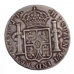 Perou 8 reales 1815 JP