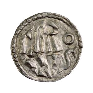 Charlemagne Denier frappé à L'Ecluse