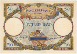 50 francs LOM 5 2 1929