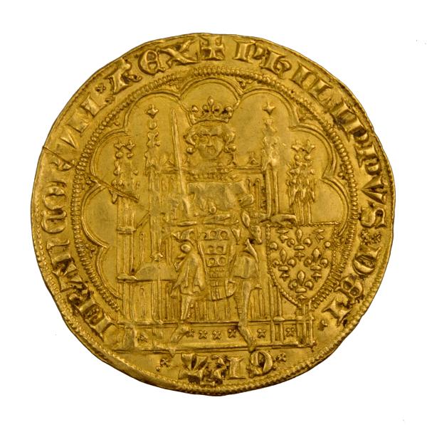Philippe VI Ecu d'or à la chaise