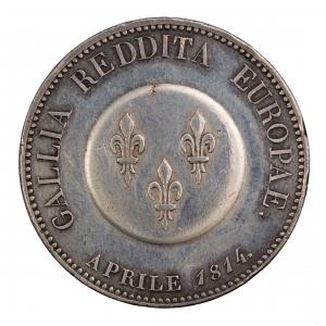 Ange de Paix 1814 en argent