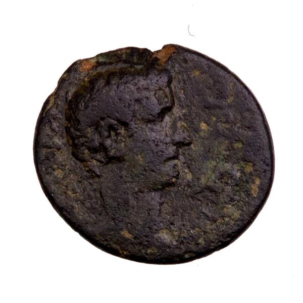 Phrygie Tibère bronze frappé à Hierapolis
