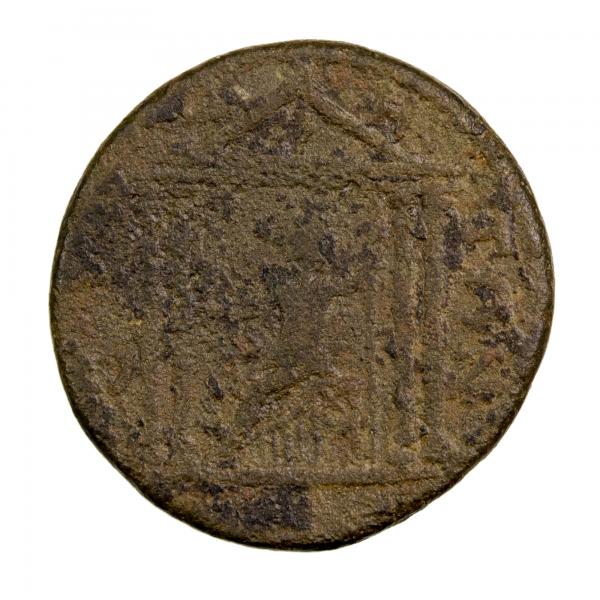 Pamphylie Maximin I grand bronze frappé à Side